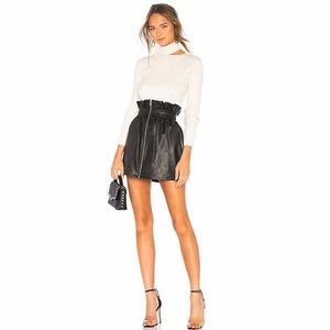 Lovers + Friends Martina Skirt in Black